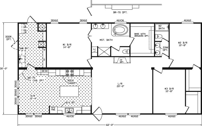 River Birch Mobile Home Plans House Design Ideas