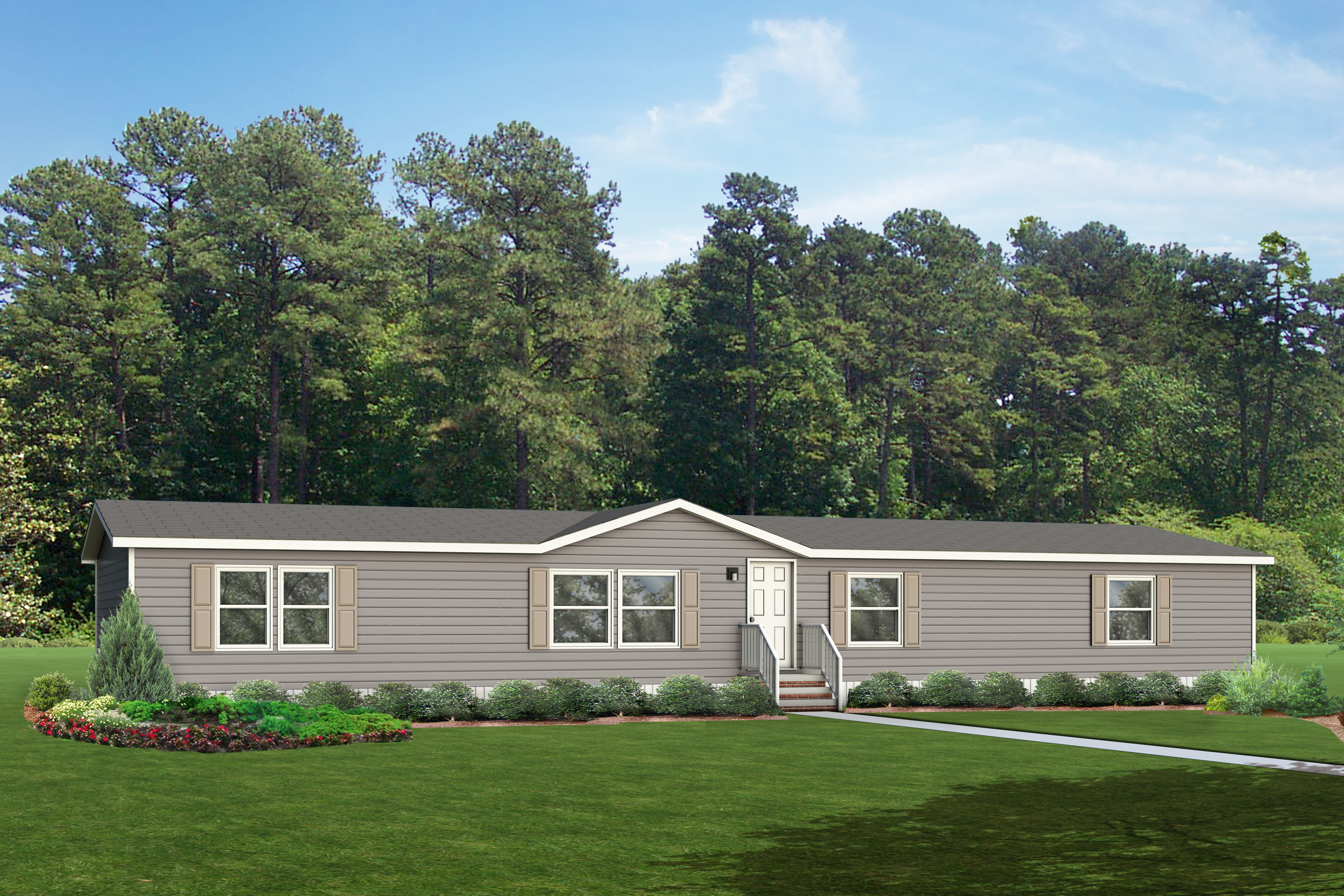 Model 9906 mobile home